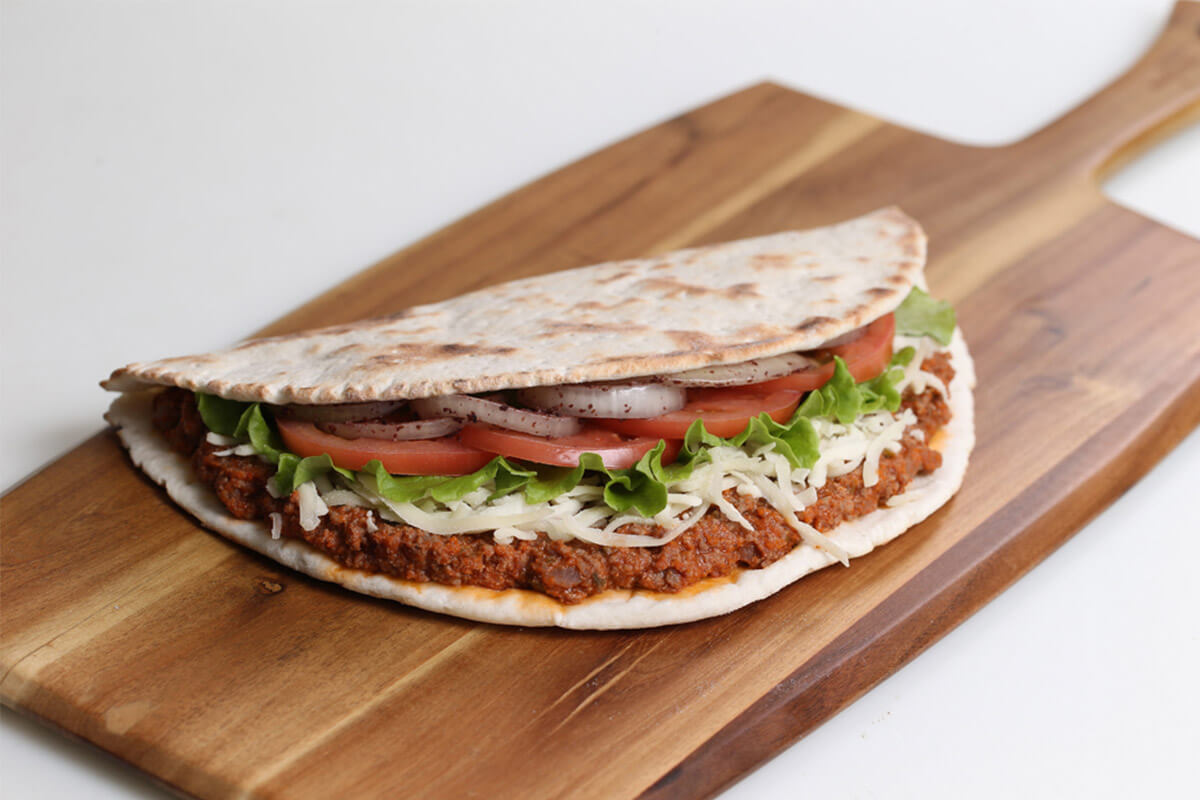 la-galette-libanaise-viande-et-fromage